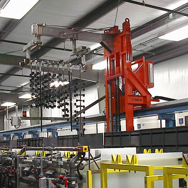 Automatic Anodizing Hoist Systems