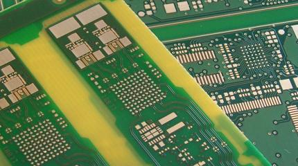 Gold plated PCB boards