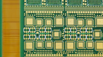 Gold deposits on PCB Board
