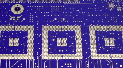 Electrolytic Nickel thru hole PCB