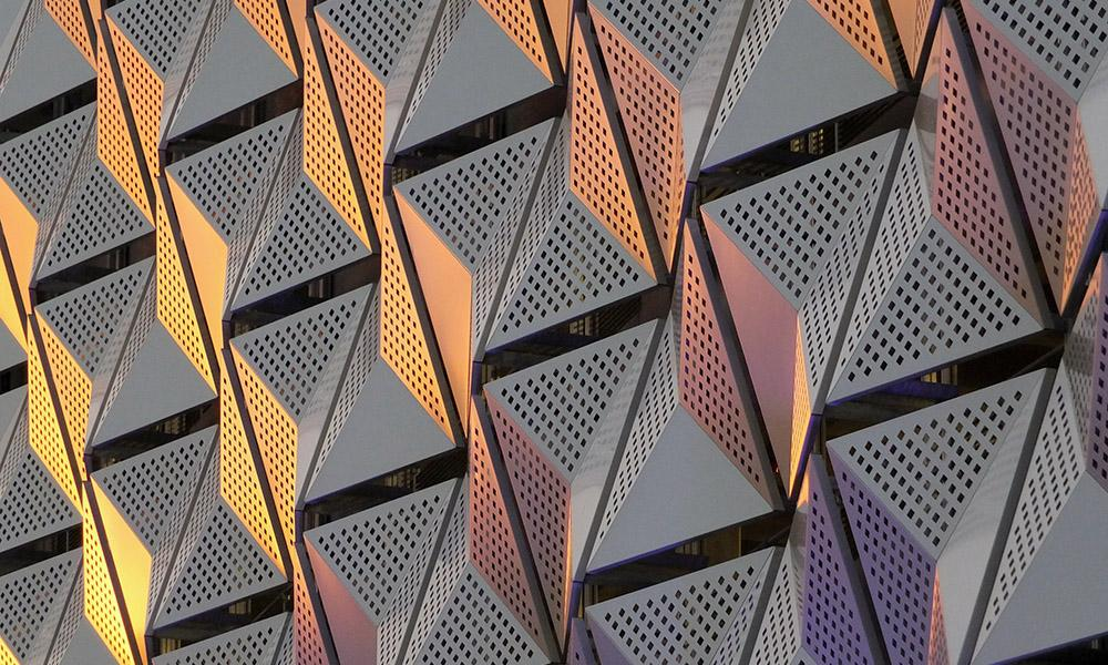Anodized architectural finishes