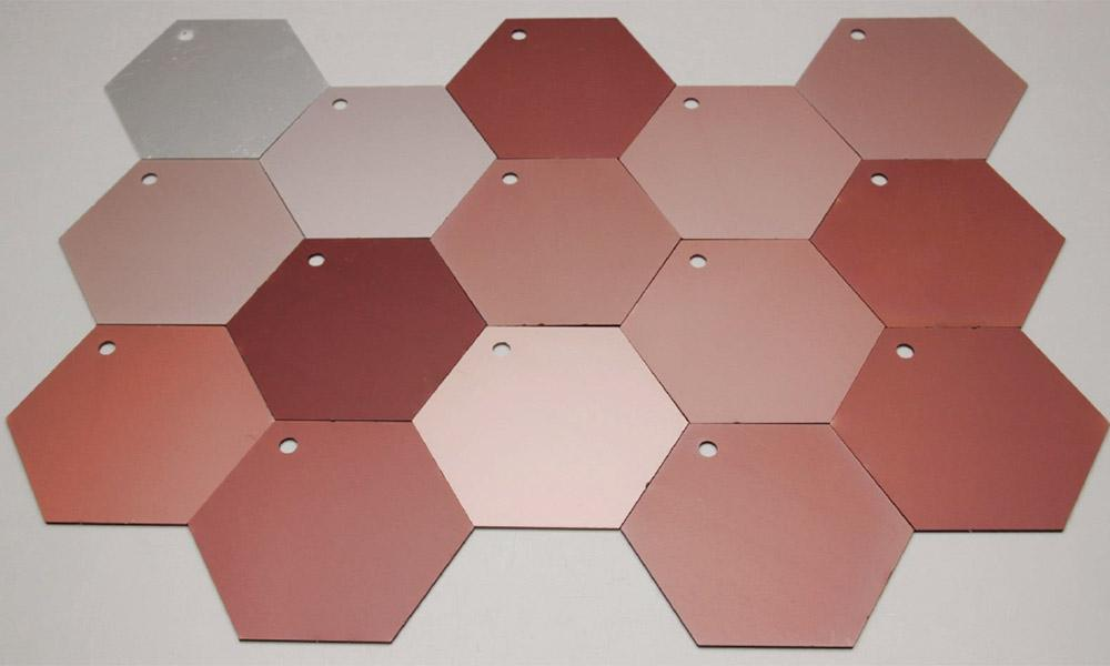 Copper Anodizing Samples