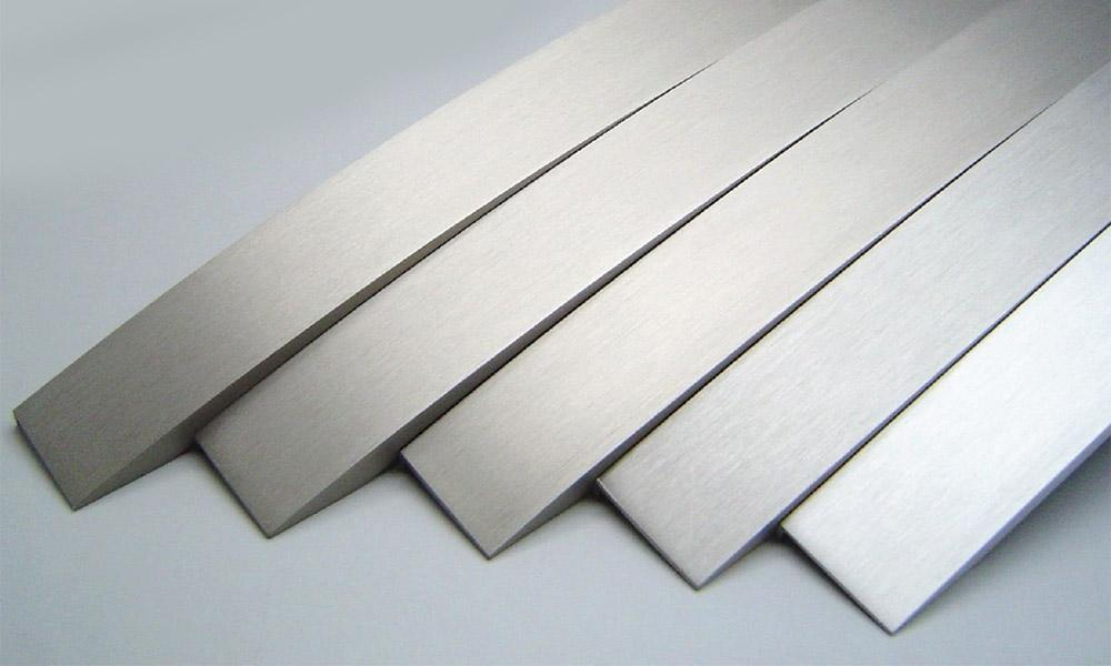 Alfisteel Anodizing Samples