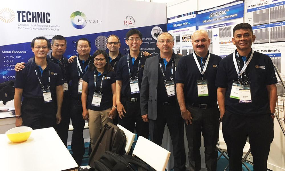 Semicon SEA 2018 - Technic and JSR Booth 204