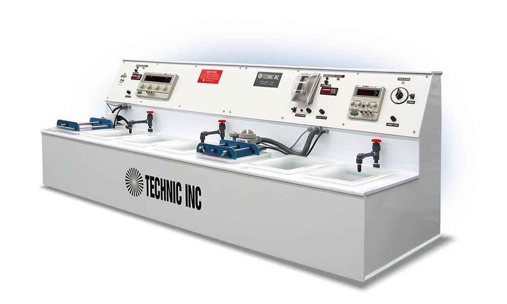 Mini Electroplating Plants, Tabletop Lines | Technic Inc