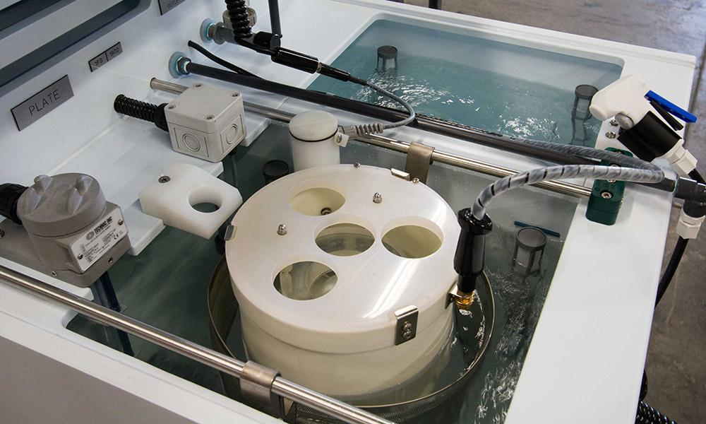 SBE® chamber in an electroplating tank