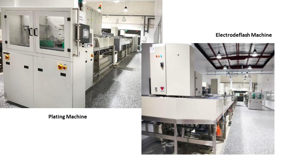 Plating and Electrodeflash Machines
