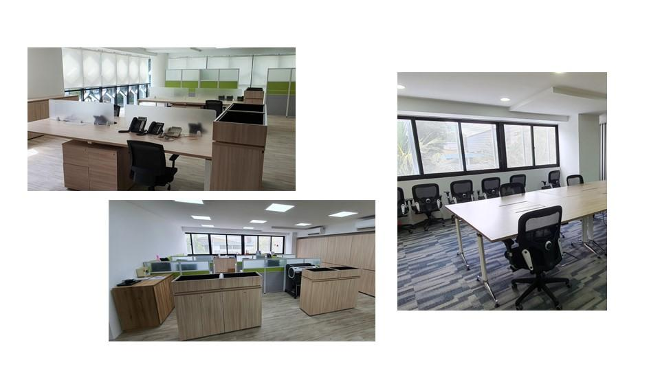 Administrative Offices, Common Areas and Meeting Rooms