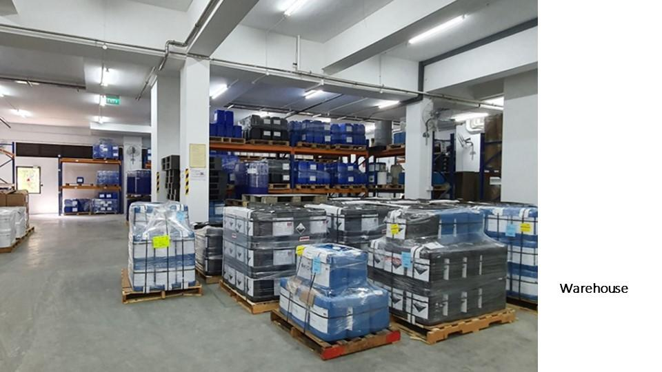 Expanded Warehouse Operations
