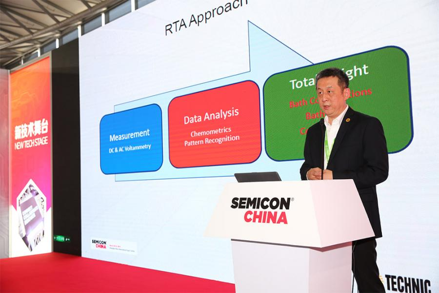 Presentation at Semicon China 2019 on Technic RTA3D