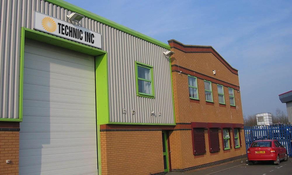 Technic UK (Lektrachem), Sales/Service Office, Manufacturing Facility, Customer Service Lab, Warwickshire, UK
