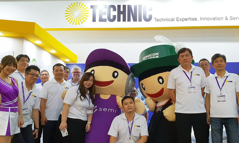 Technic booth at Semicon Taiwan