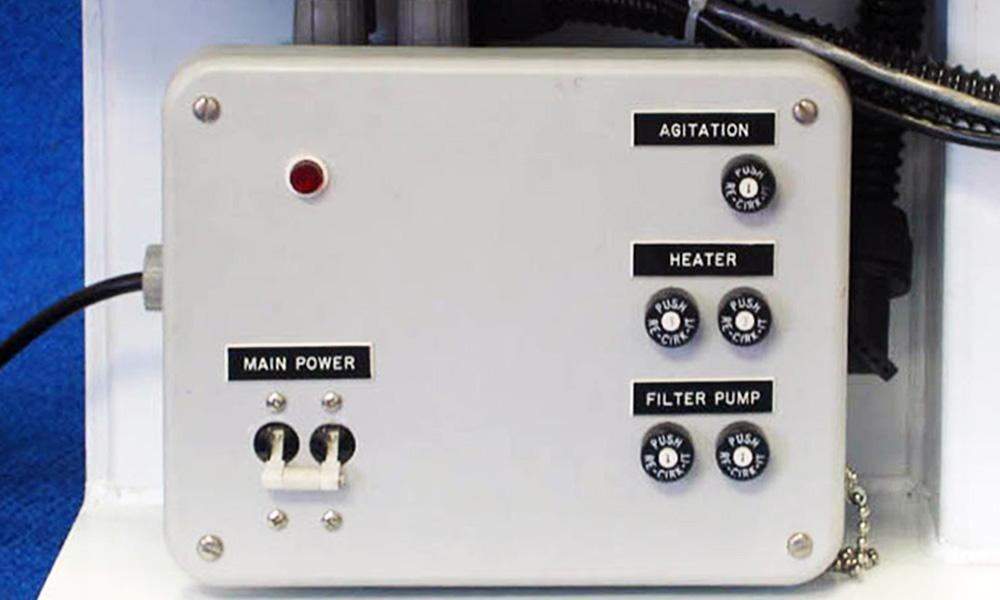 reel to reel test cell power supply