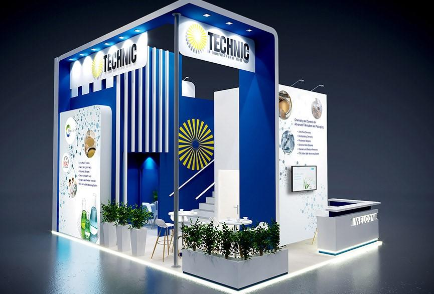 Technic France Booth at Semicon Europa 2018